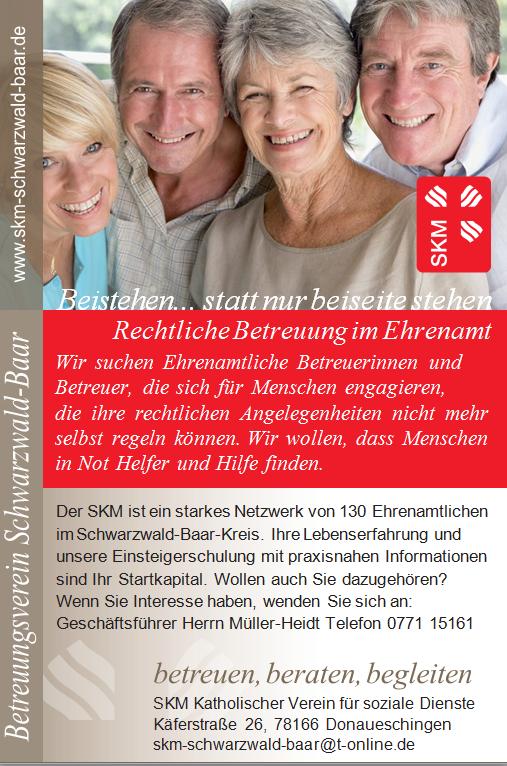 Ehrenamtliches Engagement im SKM